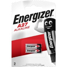 Energizer A27 - 27A - V27A - 8LR732 - A27BP- G27A - GP27A - L828  Alkaline  Battery, 12V, Pack of 2