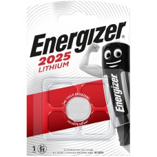 Energizer CR2025 Lithium Battery - Pack of 1