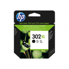 HP 302XL High Yield Black Original Ink Cartridge F6U68AE