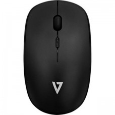 V7 Mouse Optical Wireless 4 Buttons Black Radio Frequency USB 1600 Dpi