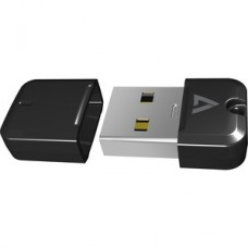 V7 VP2N32G 32 GB USB 2.0 Flash Drive - Black - 10 MB/s Read Speed - 3 MB/s Write Speed - 5 Year Warranty