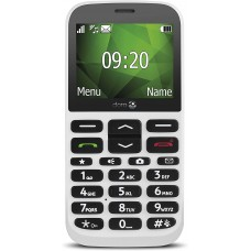 Vodafone Doro 1370 Mobile Phone - White -£10 Big Value Bundle included